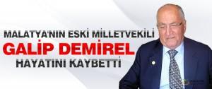 Malatya'nın Eski Milletvekili Demirel Hayatını Kaybetti