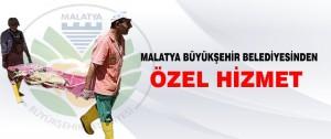 Malatya Büyükşehir Belediyesinden Özel Hizmet