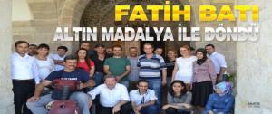 Belediye Personeli Fatih Batı Malatya'nın Gururu Oldu