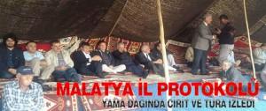 Malatya İl Protokolü Yama Dağında Cirit ve Tura İzledi