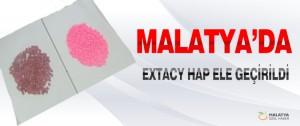 Malatya'da Extacy Hap Ele Geçirildi