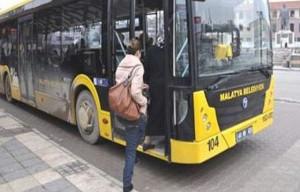 Malatya'da Belediye Otobüsleri Bayramın İlk İki Günü Ücretsiz