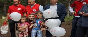 Kızılay'dan, Karadağ'a 700 Hisse Kurban