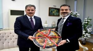 Başkan Çakır'ı Ziyaret Etti