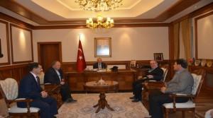 Başkan Bozdoğan ve Başkan Güneş, Vali Kamçı'yı Ziyaret Etti