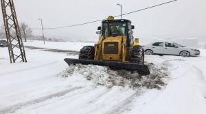 Battalgazi Belediyesi Karla Mücadelede Aralıksız Çalışıyor