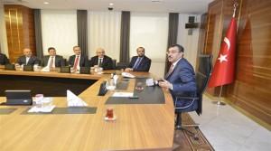 Bakan Tüfenkci Ensar Vakfı Heyeti'ni Kabul Etti
