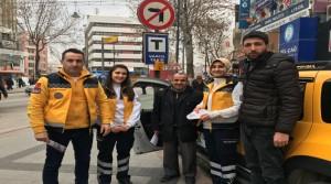 112 Acil Ekipleri Taksici ve Servis Şoförlerini Ziyaret Etti