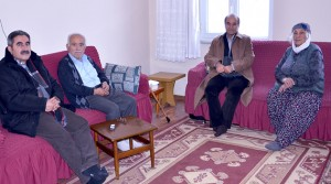 Başkan Kızıldaş, Yaşlıları Ziyaret Etti, İhtiyaçlarını Sordu