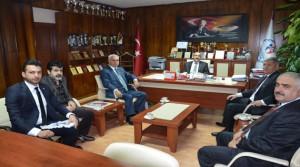 Federasyon Başkanından İl Müdürlüğümüze Ziyaret