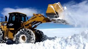 Büyükşehir Belediyesi 2900 Km Karla Mücadele Çalışması Yaptı
