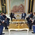 Milletvekili Külünk, Başkan Polat'ı ziyaret etti