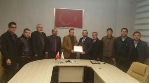 Kızılay'dan Mim-der'e Plaket