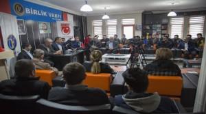 Başkan Gürkan, Gençlerle Sohbet Etti