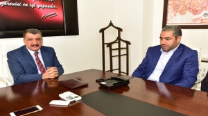 Rışvanlılar Derneği'nden Başkan Gürkan'a Ziyaret