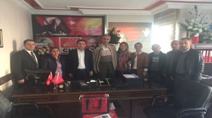 BİMYAD Genel Merkezinden CHP İl Başkanlığına Ziyaret