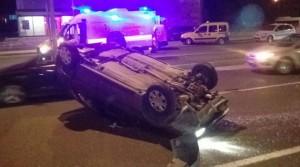 Malatya'da Çevreyolunda Kaza 1 Yaralı