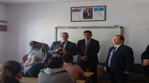 Kuluncak'da Bayanlara Yönelik Mesleki Eğitim Kursları Açıldı