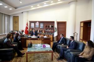 Mimarlar Odasından Başkan Çakır'a Ziyaret