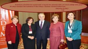 Vali Kamçı 8 Mart Dünya Kadınlar Gününü Kutladı