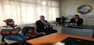 Genel Sekreter Pektaş'dan BİMYAD'I Ziyaret Etti