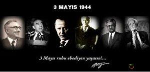 3 Mayıs Türkçülük Bayramı Kutlu Olsun