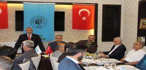 Malatya Türk Ocağından Yemekli İstişare Toplantısı