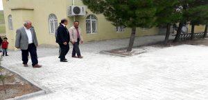 Karababa Camii Çevre Düzenlemesi Yapıldı