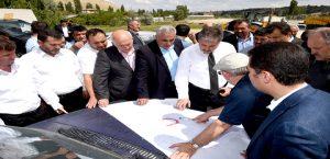 Başkan Çakır, Darende'de İncelemelerde Bulundu