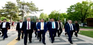 Bakan Tüfenkci Malatya'da İncelemelerde Bulundu
