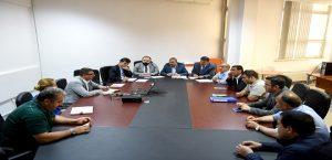 Büyükşehir ve İlçe Belediyeleri Koordinasyon Toplantısı Yapıldı