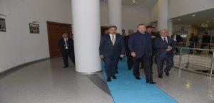 Cumhurbaşkanı Erdağan'dan Büyükşehir Belediyesine Ziyaret