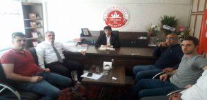 Malatya İş Kur İl Müdürü Gençlik Konseyini Ziyaret etti.