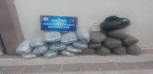 Malatya'da 120 Kilo Esrar Ele Geçirildi