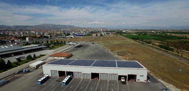 Güneş Enerji Santralinden Elektrik Üretimine Başladı
