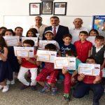 Başkan Gürkan, Öğrencilere Karne Dağıttı
