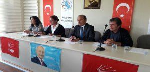 Arguvan CHP İlçe Örgüt Toplantısı Yapıldı