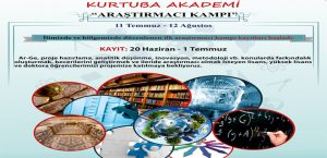 Bilsam Kurtuba Akademi Araştırmacı Kampı