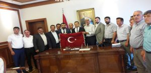 MATHAP Başkanı İhsan Akın,Vali Toprak' Ziyaret Etti
