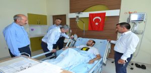 Başkan Polat Enes Gün'ü Ziyaret Etti