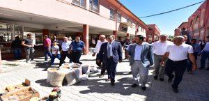 Başkan Gürkan, Şire Pazarı Esnafı İle Bir Araya Geldi