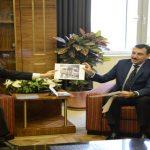 Bakan Tüfenkci, Japonya Büyükelçisi Oka'yı Kabul Etti