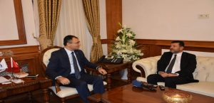 Milletvekili Ağbaba, Vali Toprak'ı Ziyaret Etti