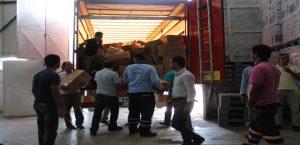 Malatya'daki Suriyeliler İçin 1 Tır Dolusu Giyim Yardımı Yapıldı