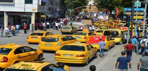 Taksiciden Darbecilere Karşı Eylem