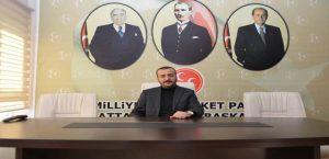 MHP Battalgazi İlçe Başkanı Şahin'den Kınama
