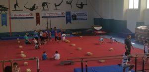 Gençlik ve Spor İl Nmüdürlüğünün Jimnastik Ordusu