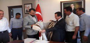 Birlik Başkanı Akın Rektör Prof. Dr. Ahmet Kızılay'ı Ziyaret Etti