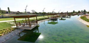 Tarihi Çınar Rekreasyon Alanı Projesi'nde Sona Geliniyor