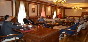 Esnaf kuruluşlarından Vali Toprak'a ziyaret